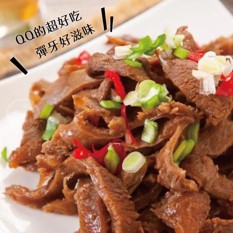 欣明◆精燉紅燒QQ牛筋片~熟食(250g/1包) 2