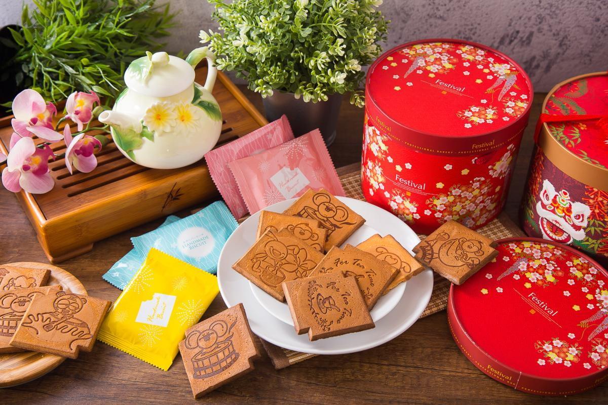 老奶奶手作煎餅年節禮盒(20包/盒) 9
