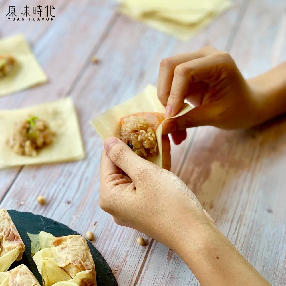 【原味時代】低醣千張餃-高麗菜蝦仁(16粒一盒) 0