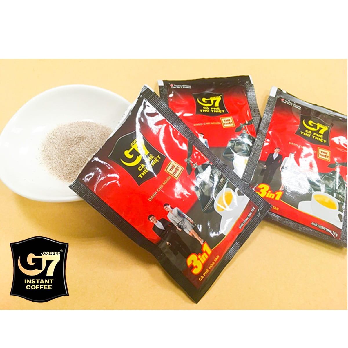 越南G7三合一咖啡(16g*50入)/袋 3