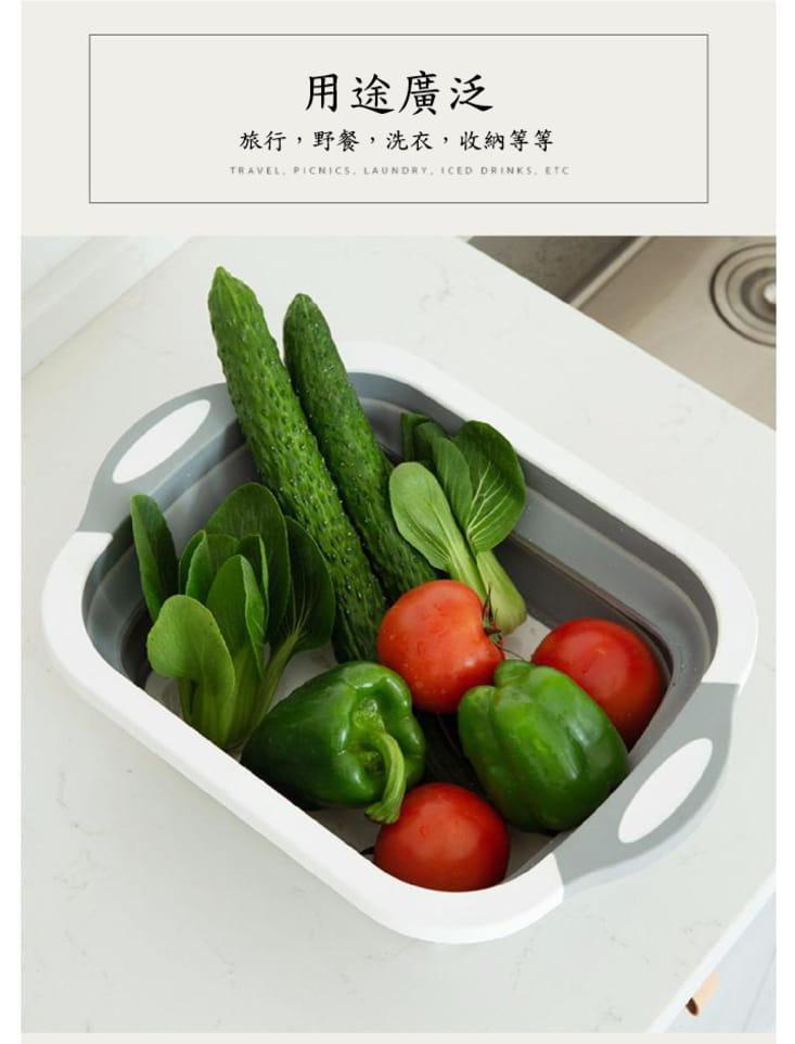切菜瀝水二合一砧板(可收納) 10