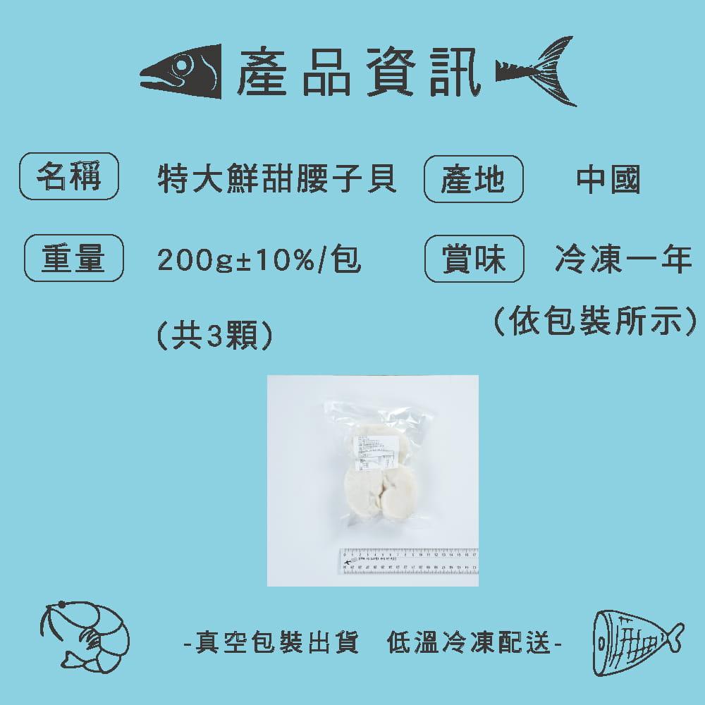 【Hello Ocean】特大鮮甜Q彈腰子貝 8