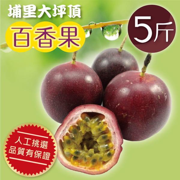 南投埔里超大香甜百香果5斤(約43顆-50顆)) 0