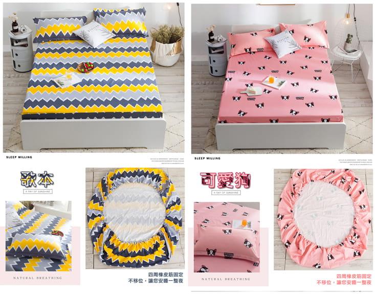 多用途防潑水保潔床包 12