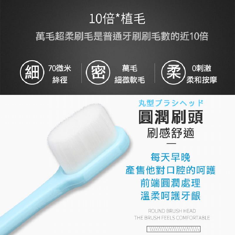 牙醫一致推薦護齦軟毛牙刷 4