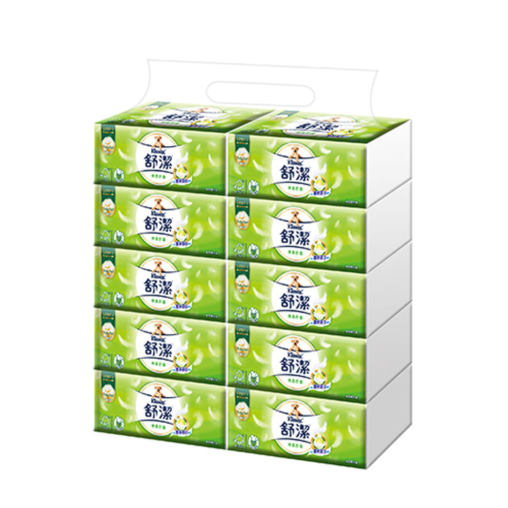 【雙11限定】舒潔 棉柔舒適抽取衛生紙(100抽x40包/箱) 0