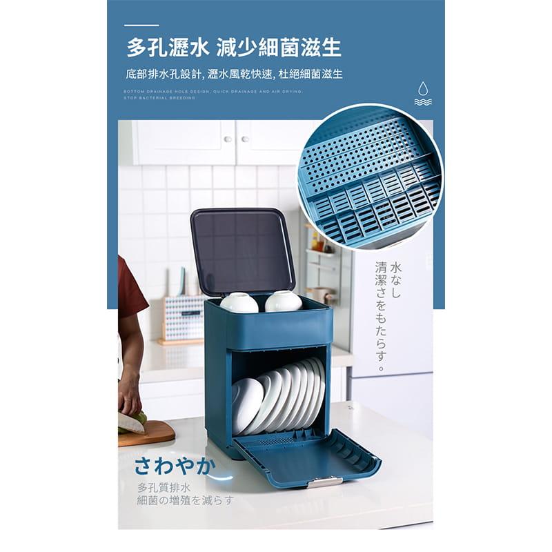 日本無印雙層碗盤瀝水架 7