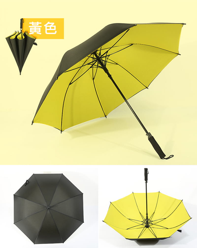 【TengYue】超級大商務自動開防風曬雨傘 13