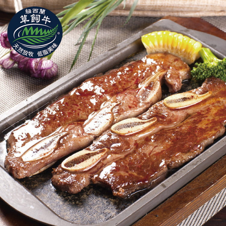 欣明◆紐西蘭PS帶骨牛小排(100g/1片) 0