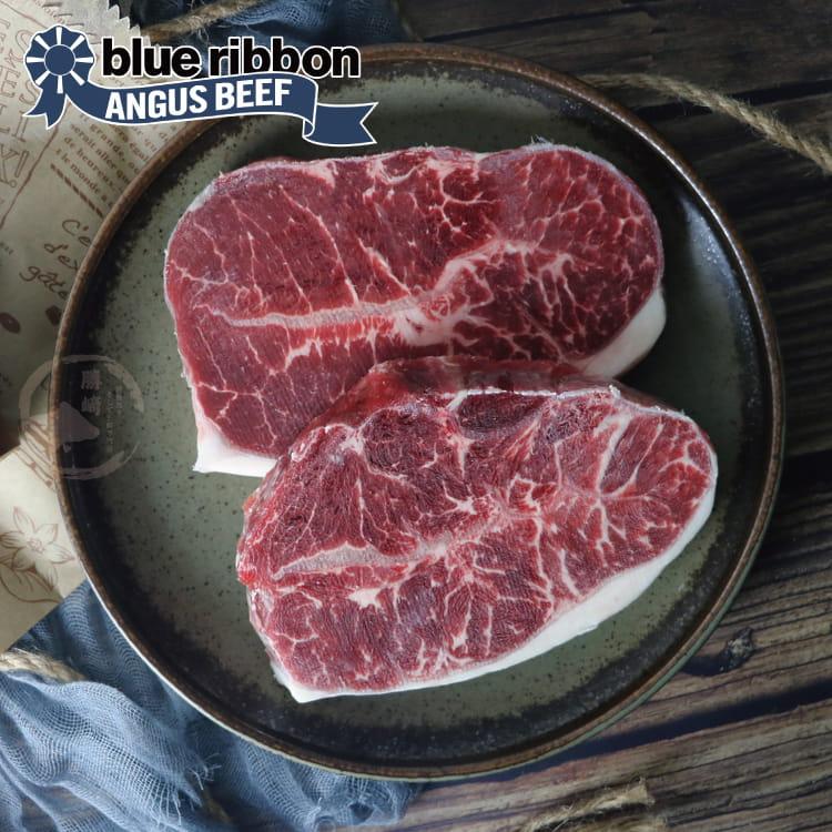 欣明◆美國PRIME藍絲帶霜降牛排(120g/1片) 1