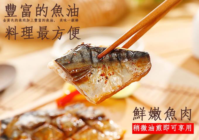 【海之金】正挪威XXL鯖魚一夜干(380g/尾) 3
