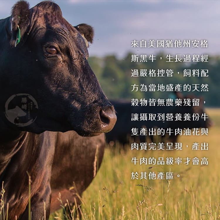 欣明◆美國PRIME藍絲帶霜降牛排(120g/1片) 4