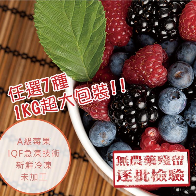【幸美生技】進口鮮凍花青莓果重量包任選 0