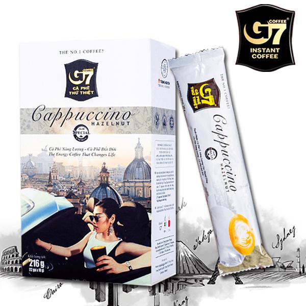 G7卡布奇諾(摩卡/榛果) 2