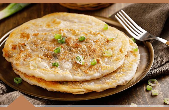 【大成】酥嫩雞肉蔥油餅 (140g/片) 2
