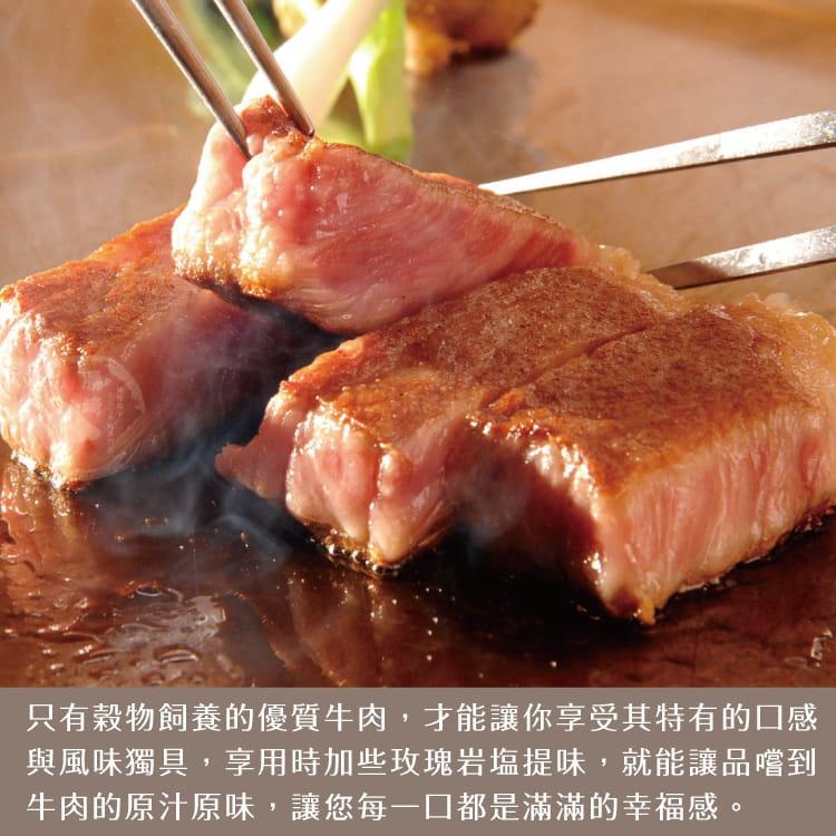 欣明◆美國安格斯總統級霜降牛排~超厚切(600g/1片) 6
