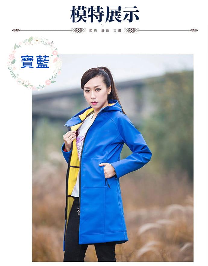 時尚多場合保暖防風外套 8