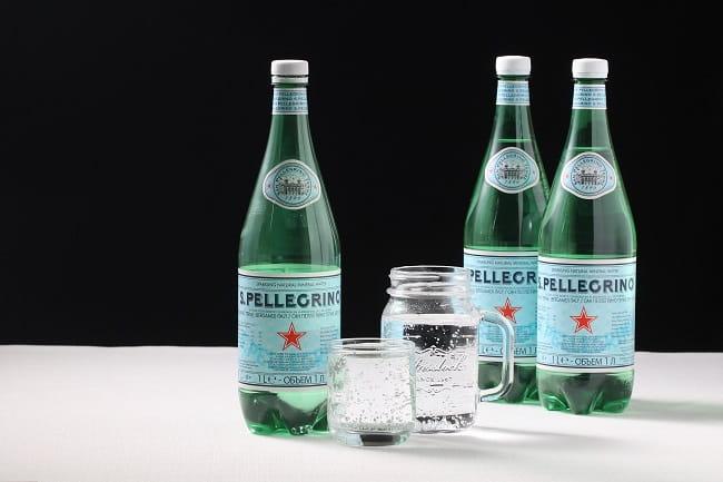 聖沛黎洛 天然氣泡礦泉水-寶特瓶1000ml 2