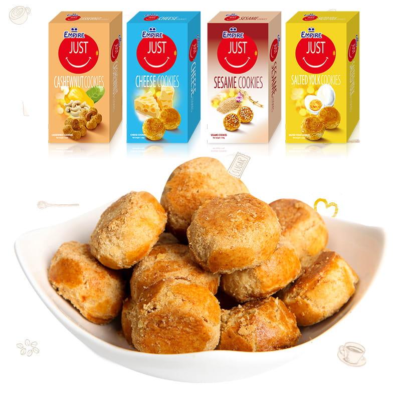 【雙盟】一口餅乾酥(120g/盒) 0