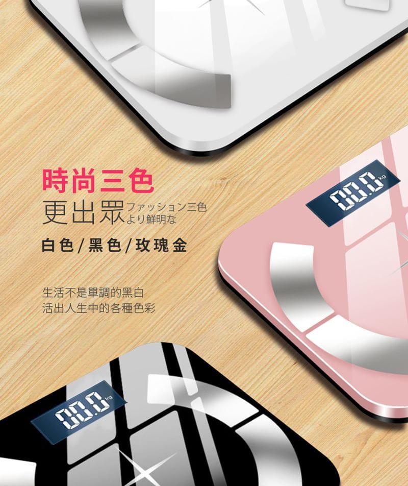 多合一智能LCD智能秤/體重計【玫瑰金/黑色/白色任選】 15