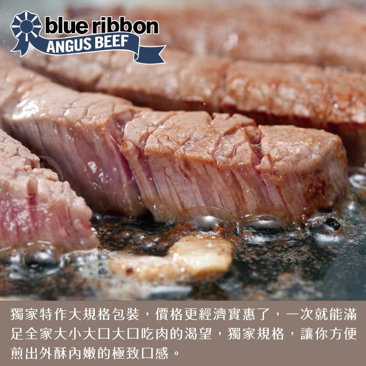 欣明◆美國藍絲帶極黑雪花牛排(600g/6片) 2