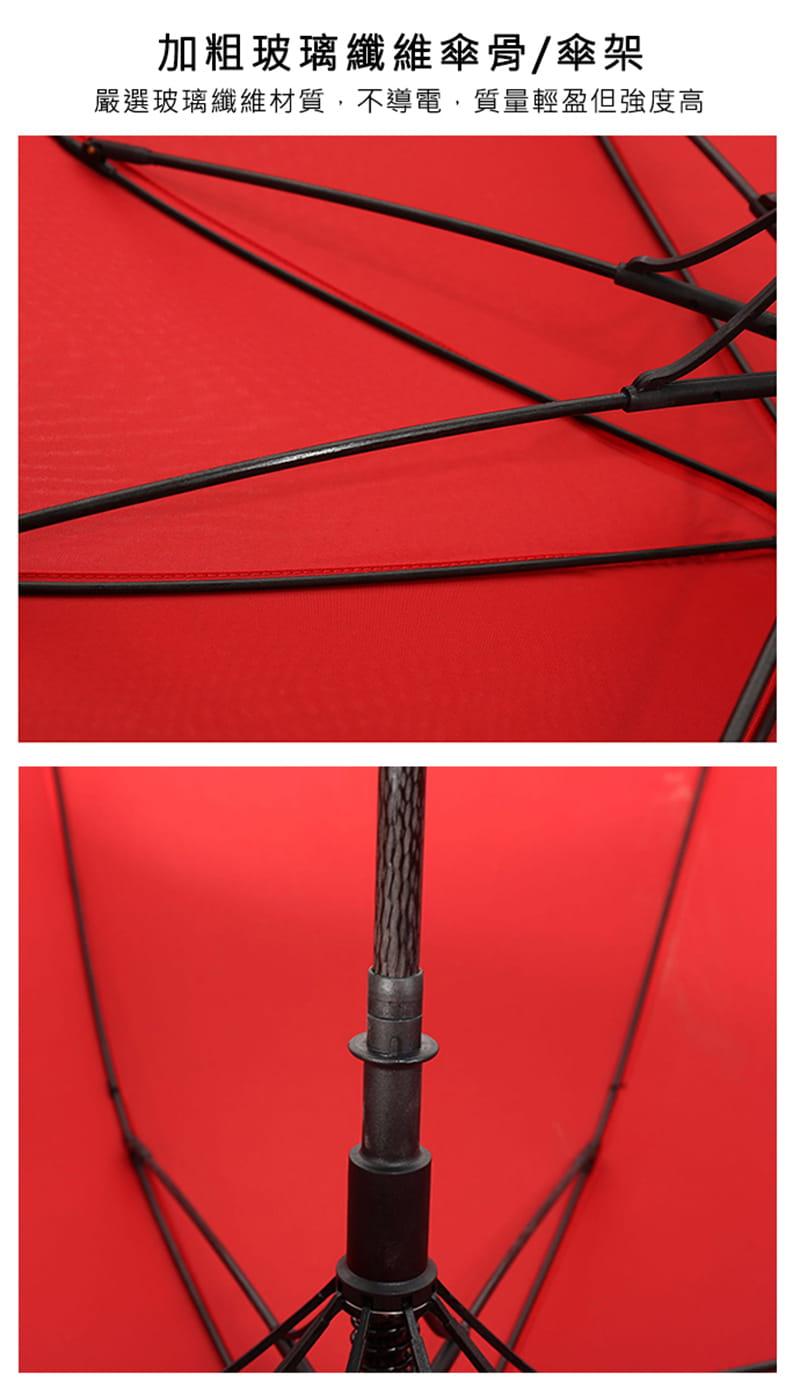 【TengYue】超級大商務自動開防風曬雨傘 9