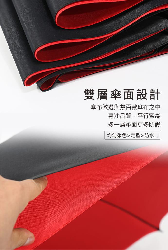【TengYue】超級大商務自動開防風曬雨傘 4