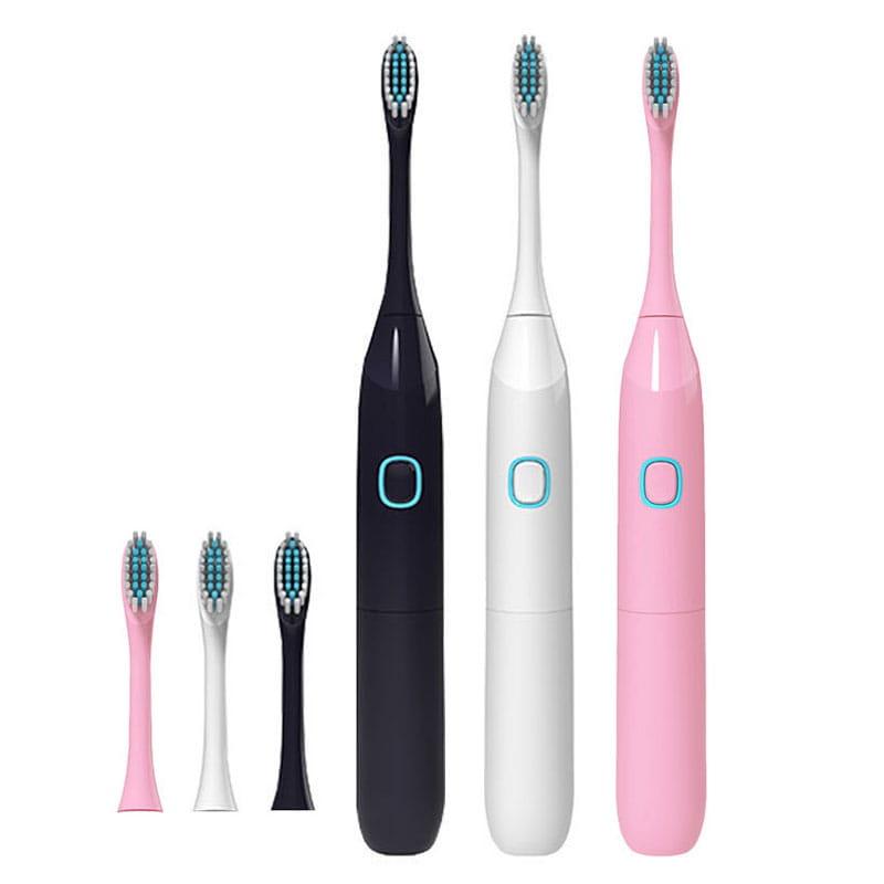 【買一送一】防水超聲波柔軟電動牙刷 3色任選(買再贈牙刷架) 15