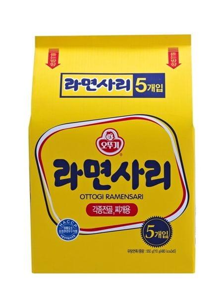 韓國不倒翁拉麵(純麵條) 110g 0