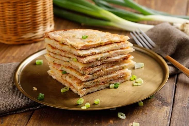 【大成】酥嫩雞肉蔥油餅 (140g/片) 1