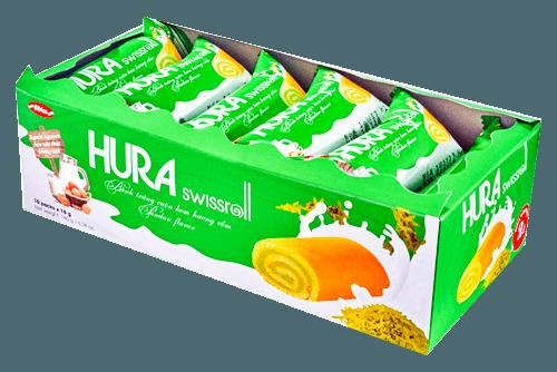 【越南】HURA風味糕餅(香蘭葉/草莓) 1