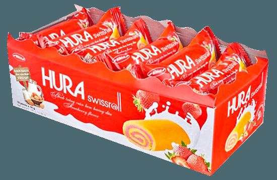 【越南】HURA風味糕餅(香蘭葉/草莓) 2