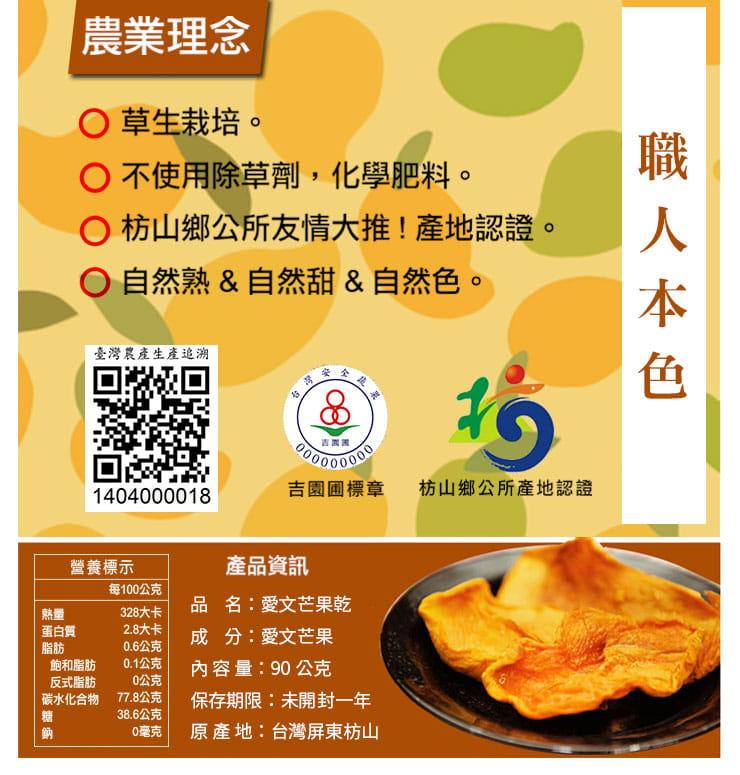 Mango House 枋山愛文芒果乾x5包(90g/包) 3