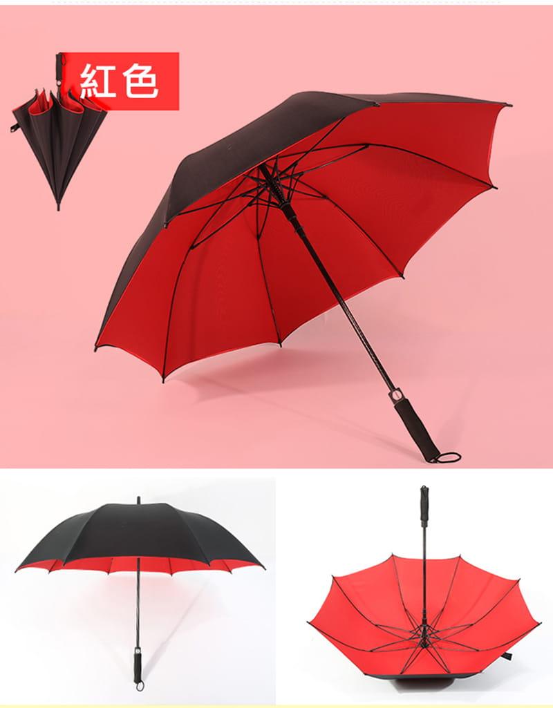 【TengYue】超級大商務自動開防風曬雨傘 12