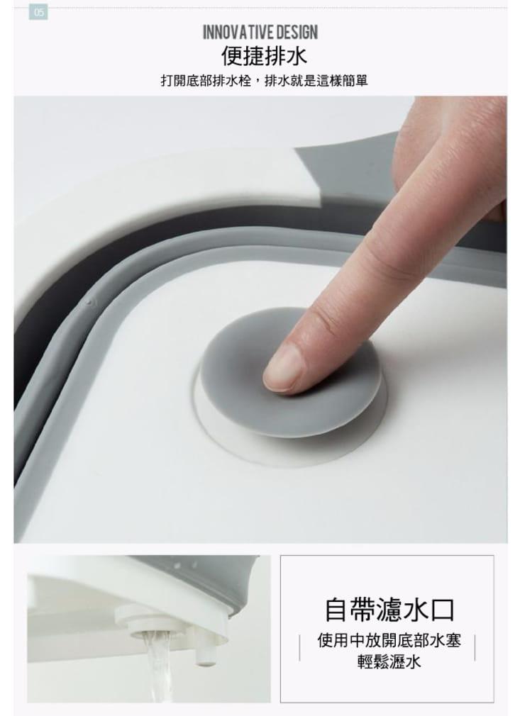 切菜瀝水二合一砧板(可收納) 8