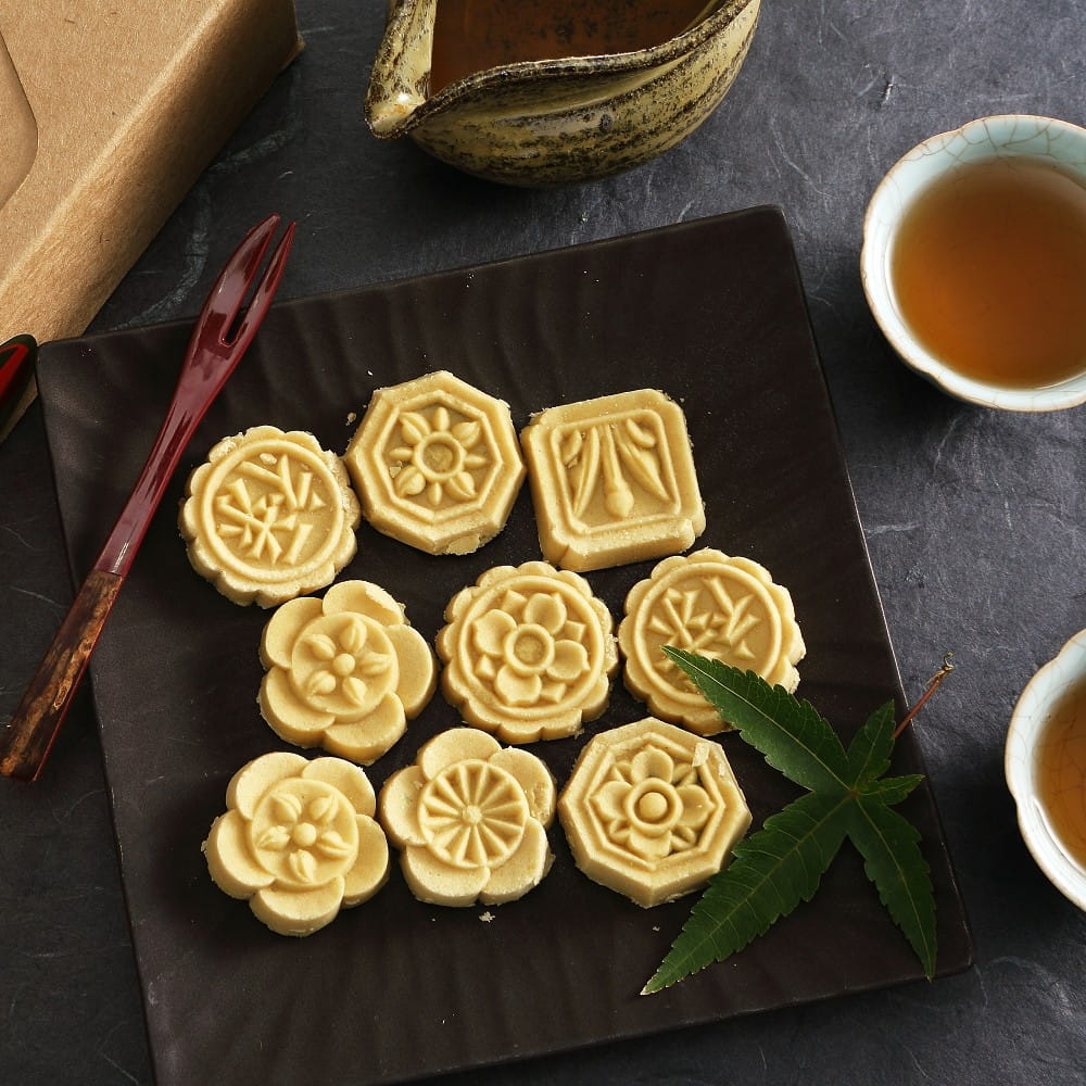 【蘇州采芝齋】府城手作綠豆糕隨手包(6入/包) 0