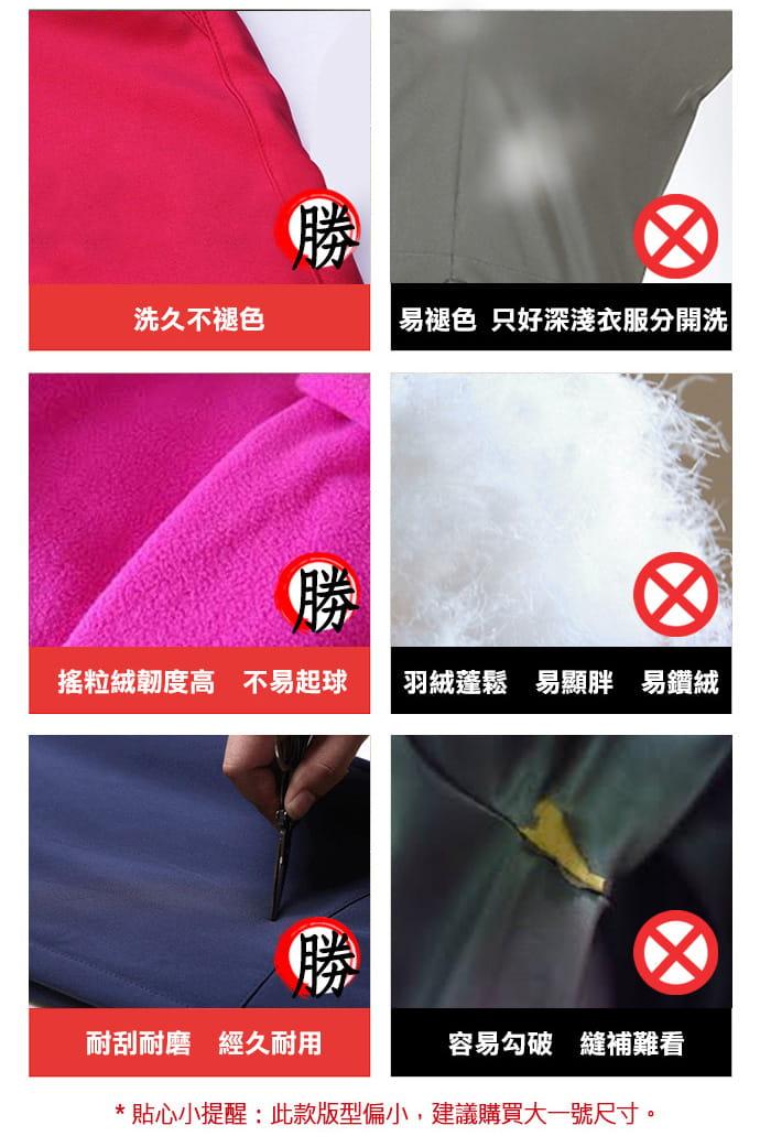 時尚多場合保暖防風外套 5