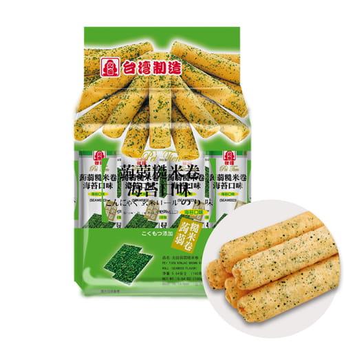 北田蒟蒻糙米捲  2