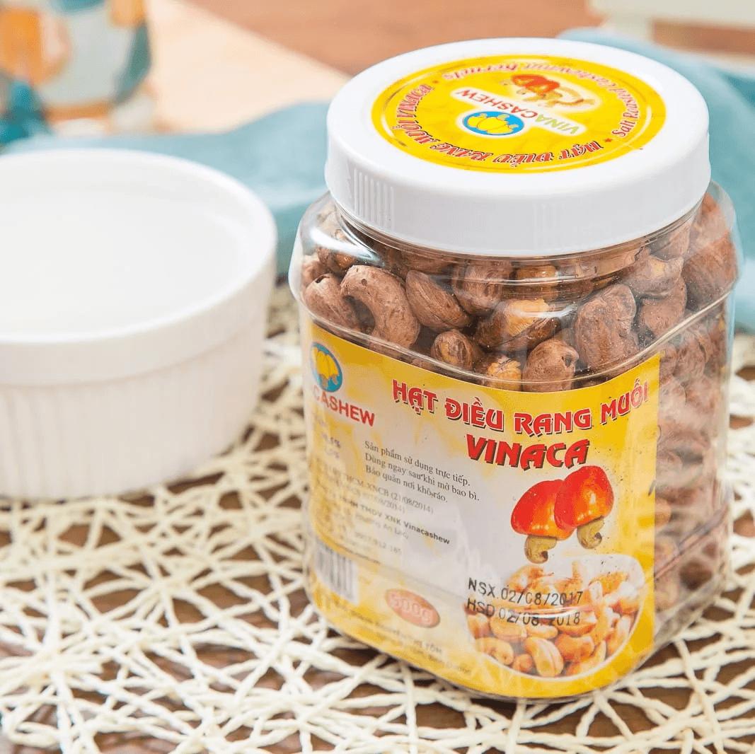 VINACASHEW 越南鹽酥帶皮腰果 450g 2