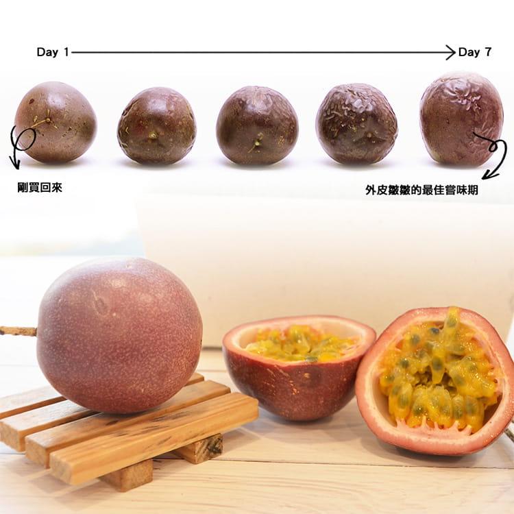 產地直送 A級台19飽滿香甜百香果禮盒(4斤/箱) 6