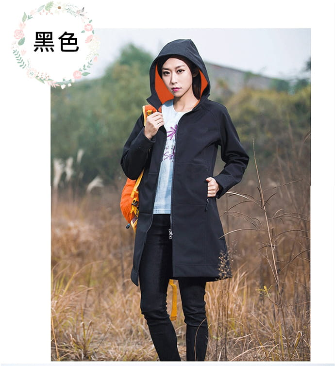 時尚多場合保暖防風外套 11
