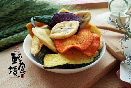 輕食樓綜合蔬果脆片160g 3