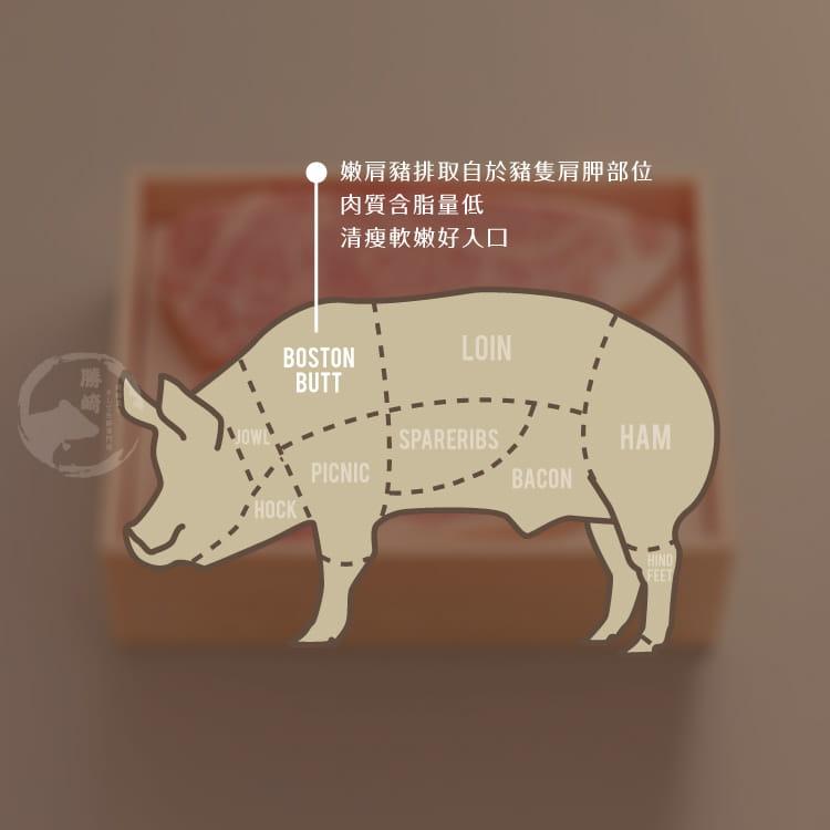 欣明◆台灣嚴選嫩肩豬排(300g/3片) 7