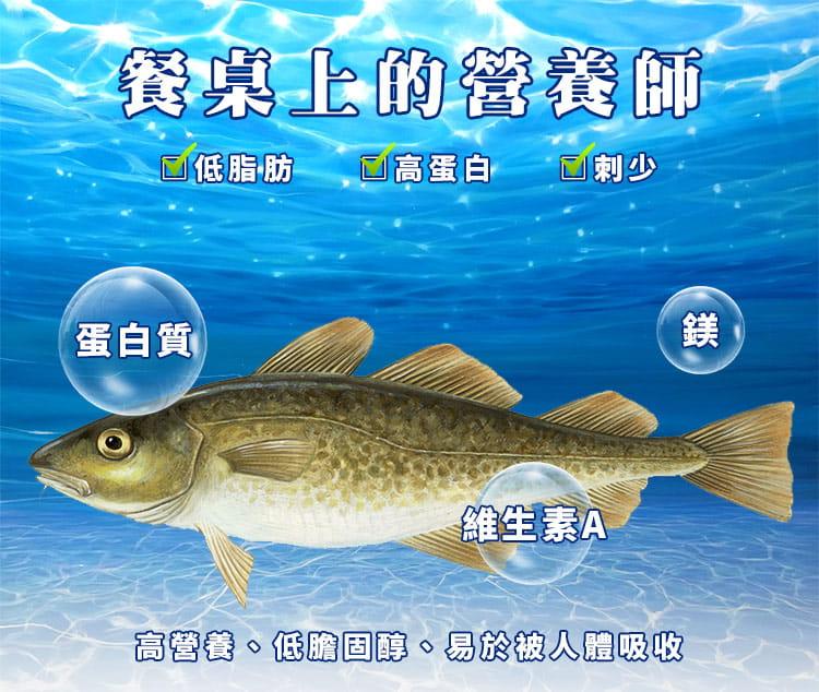 大西洋優質NG鱈魚片(大比目魚) 2