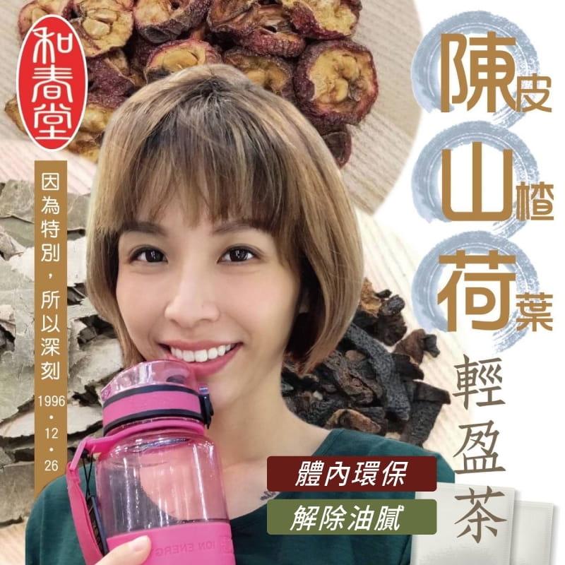 【和春堂】陳山荷輕盈茶包 0