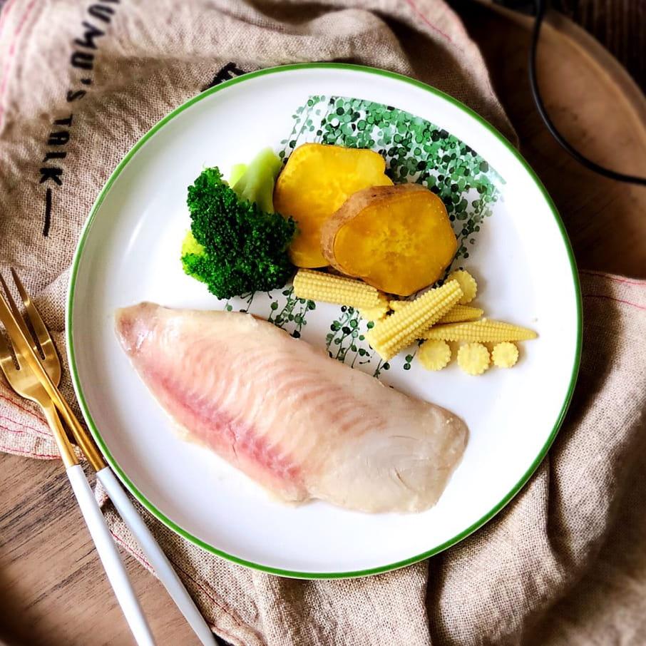 UP運動吃沙拉舒肥鯛魚即食包 0