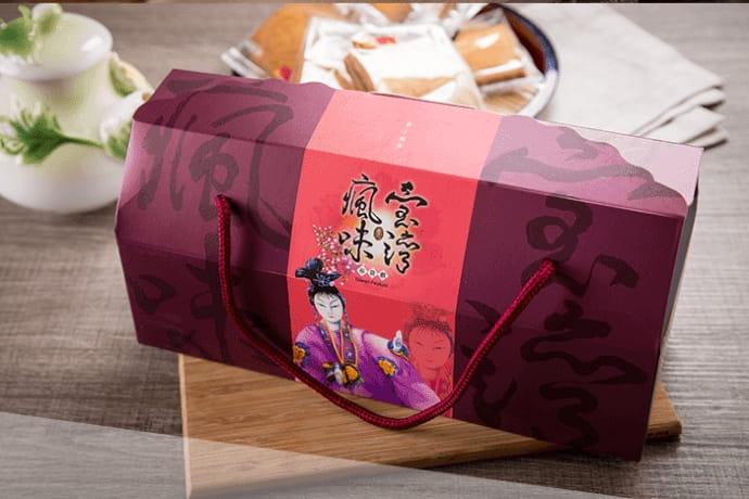 【瘋台灣】長型瓦煎餅禮盒(1盒/20片綜合口味) 3