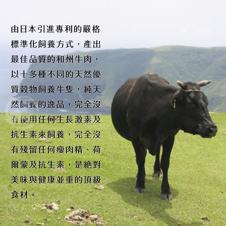 欣明◆美國日本種和州牛9+凝脂牛排(150g/1片) 5
