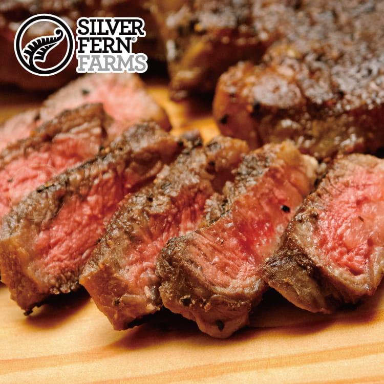 欣明◆紐西蘭銀蕨PS熟成巨無霸沙朗牛排~比臉大(450g) 0