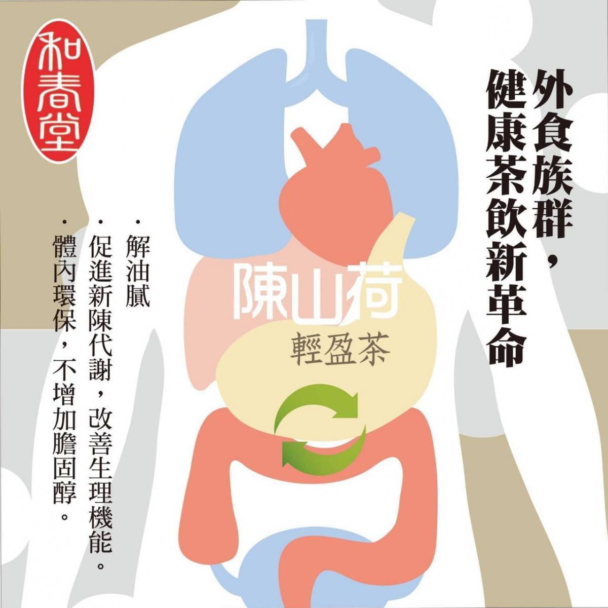 【和春堂】陳山荷輕盈茶包 4